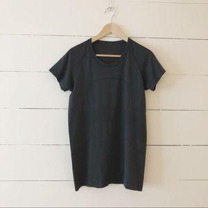 Lululemon Black Swiftly Tech Short Sleeve Shirt 12